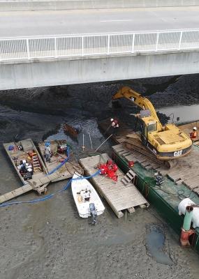 Mcteer Bridge – Beaufort River Waterline Repair