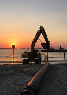 Tybee Island 18″ Effluent Discharge