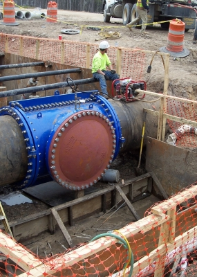 ARCHER WESTERN 48″ WATER MAIN RELOCATION